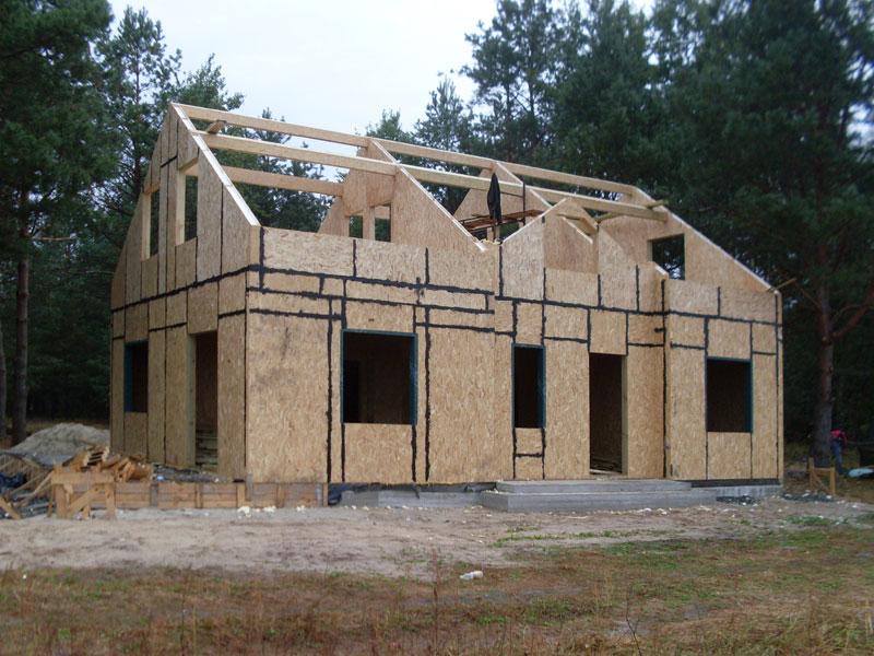 устройство крыши в канадском доме